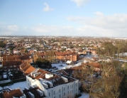Beverley from St Mary\'s Church Bell Tower