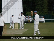 Beverley Humbled by Humbleton in the Newland League