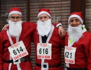 Cystic Fibrosis Trust Santa Fun Run