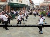 Earlsondon Morris Men Of Coventry Entertain Shoppers In Beverley