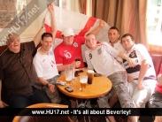 England Vs Slovenia @ The Kings Head & Beaver
