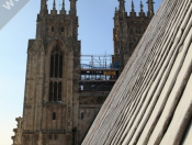 Friday Up On Beverley Minster Roof