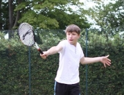 Local Youngsters Enjoy Top Tennis Coaching