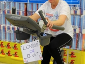 MP Teams Up With Staff & Squadies For Cyclothon @ Tesco