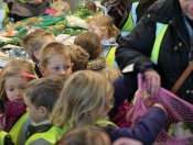 O'Brians Fruit And Vegetables Welcome Children From St Mary's