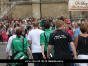 Paralympic Flame Is Welcomed By Hundreds At Beverley Minster