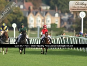 Pony Racing At Beverley Racecourse