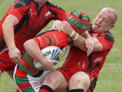 RUGBY LEAGUE : Crusaders Cruise To Victory
