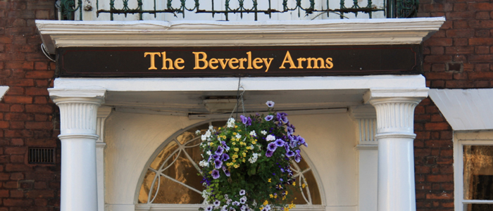 The 18th-century Beverley Arms is close to the medieval town centre of Beverley. It offers...