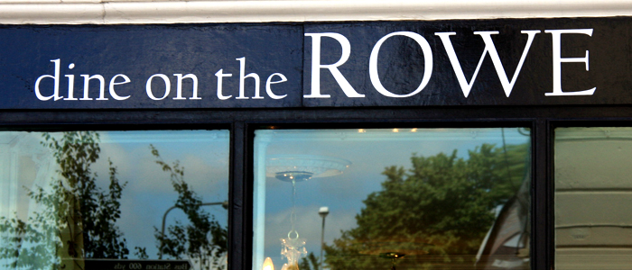 Dine on the Rowe is a brasserie and bespoke event catering of funky fresh locally...