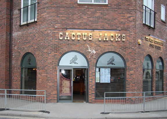 Cactus Jacks – Unit 1 Regal Court, Norwood, Beverley, East Yorkshire, HU17 9ET – 01482...