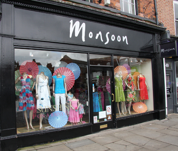 Monsoon Ltd - 47, Saturday Market, Beverley, East Yorkshire, HU17 8AA - 01482 881529