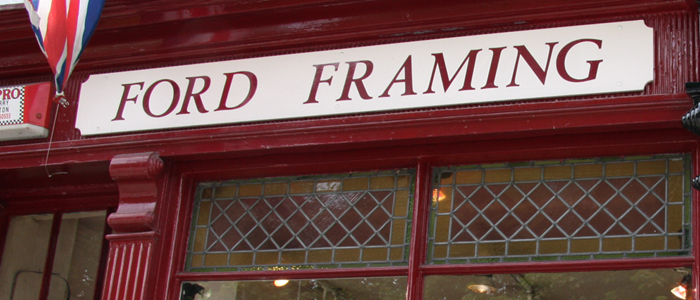 Ford Framing Beverley's longest serving Gallery and picture framers under the same family ownership,for over 25 years
