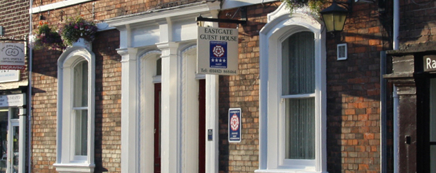 Eastgate Guest House is situated in the heart of the historic market town of Beverley...