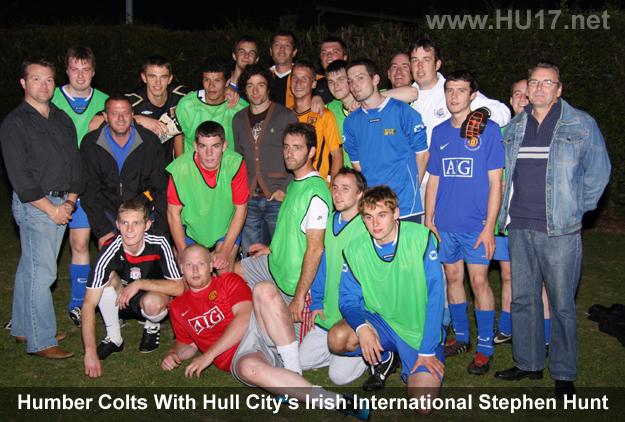 Humber Colts Meet Stephen Hunt