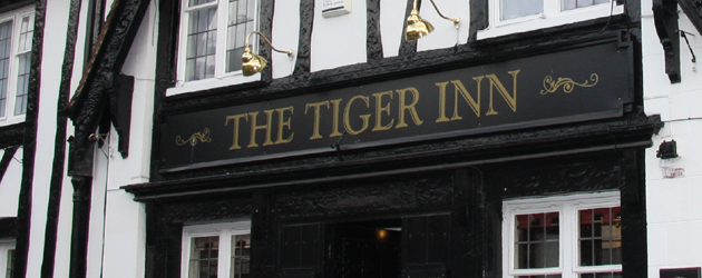 Allen Slinger the new landlord at the Tiger Inn will be hosting his first big event since taking over the Beverley Pub in August.