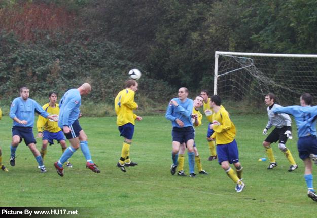 Beverley Town  Vs St. Andrews FC Headed Goal