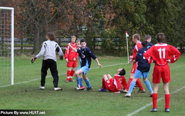 Molescroft FC Vs Beverley White Star Goal
