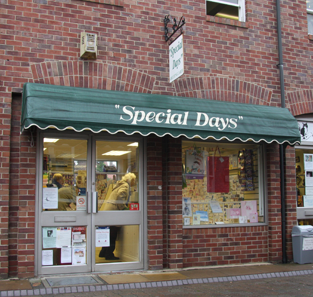 Special Days Shop Beverley