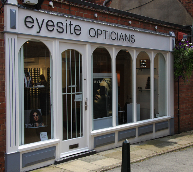 eyesite opticians beverley shop front