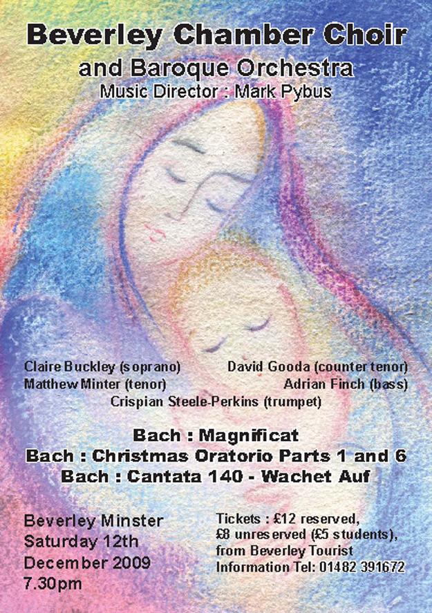 Beverley Chamber Choir Poster