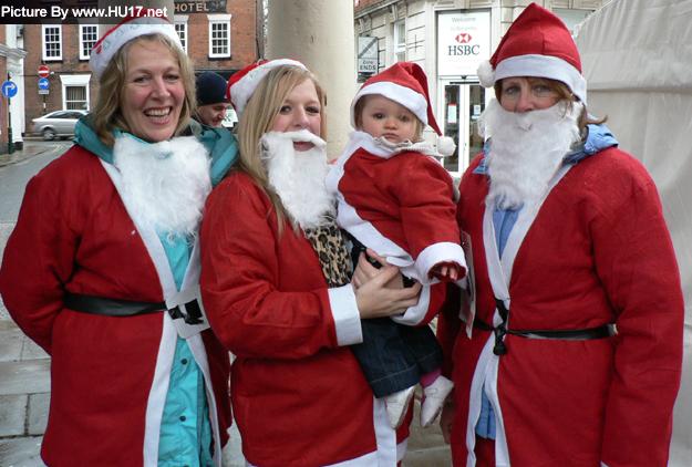 Santa Fun Run Beverley 2009