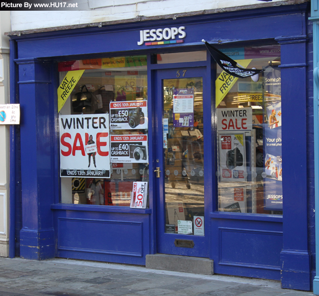 Jessops in Beverley sell a wide range of photographic equipment and also provide a 1...