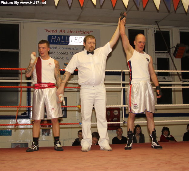 Jordon Thorne St Pauls Boxing Club