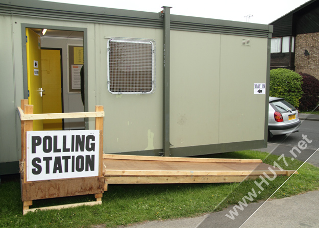 Polling Station Beverley