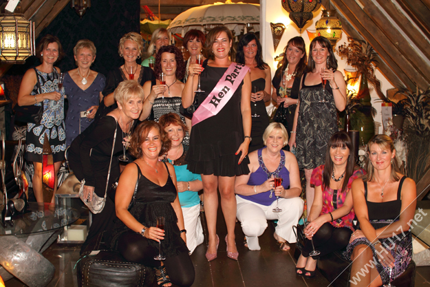 Hen Party at Inspirations