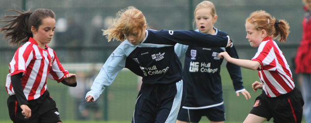 Hull College Girls School of Excellence hosted their Sunderland counterparts at Longcroft School this morning....