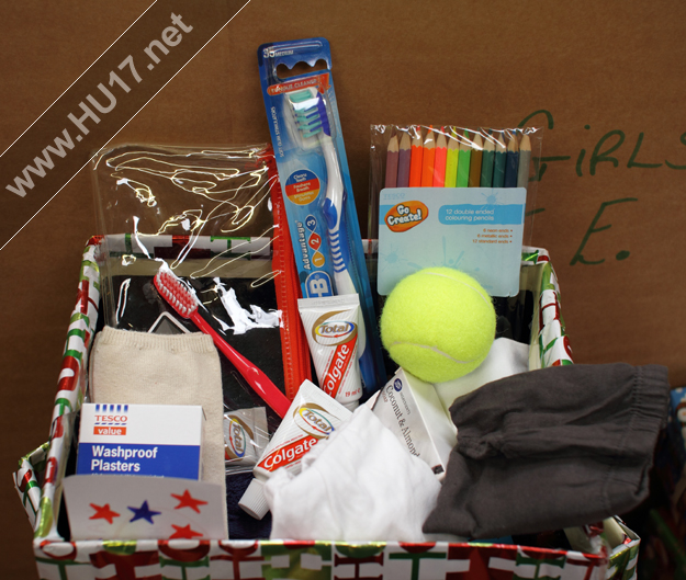 Christmas Gift Appeal: Real Aid: Christmas Gift Box Appeal 2011