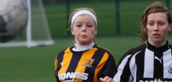 Hull College Centre of Excellence faced Newcastle United at Longcroft School in Beverley. One of...