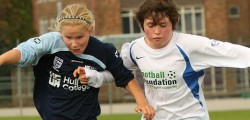 Hull College Girls beat Walkington 2 – 1 at Longcroft School. Goals from Elisha Robinson...