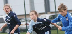 Hull College Girls were playing in Beverley as they took on a Hull Boys Representative...