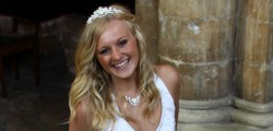 Yesterday evening in the fantastic venue that is Beverley Minster models Annabel Pattison, Sophie Draper...