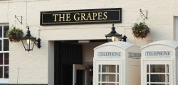 Humberside Police are appealing for help following the discovery of an unconscious man outside the Grapes Pub this weekend.