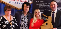 Elvis impersonators will hope they don't have 'another little hungry mouth to feed' after the Bridlington Elvis Weekender Festival later this year.