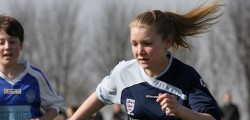 Hull College Girls beat AFC Pinefleet Wolfreton in the Hull Boys Sunday League to remain second in the U13 Kingston Division. With just two games remaining the all girls team are closing in on promotion