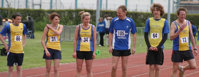 Track Success For Beverley AC Juniors