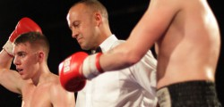 Cameron Stevenson claimed another victory as a professional boxer as he overcame Liam Griffins at the Bonus Arena, Hull. Stevenson who fights for St Paul's Amateur Boxing Academy open the Saturday night show that featured