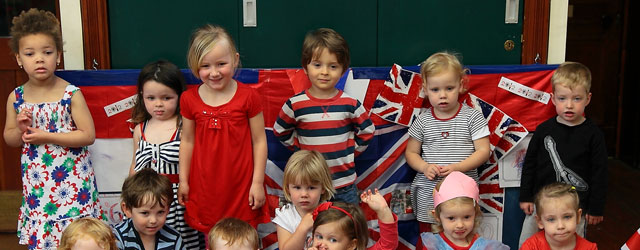 Queen's Diamond Jubilee @ Toll Gavel Preschool