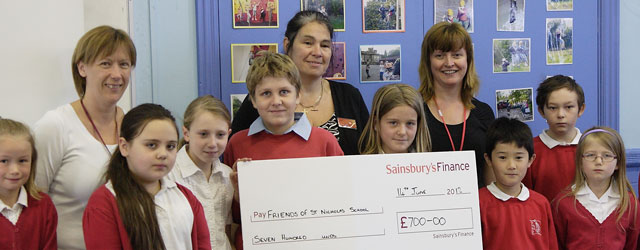 Sainsburys Make Donation To Beverley Primary School