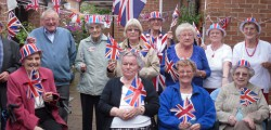 Residents at Keldgate Bar were joined by friends from around Beverley as they held a street party to mark the Queen's Diamond Jubilee. Around thirty, people got together with plenty of red, white and blue on display.