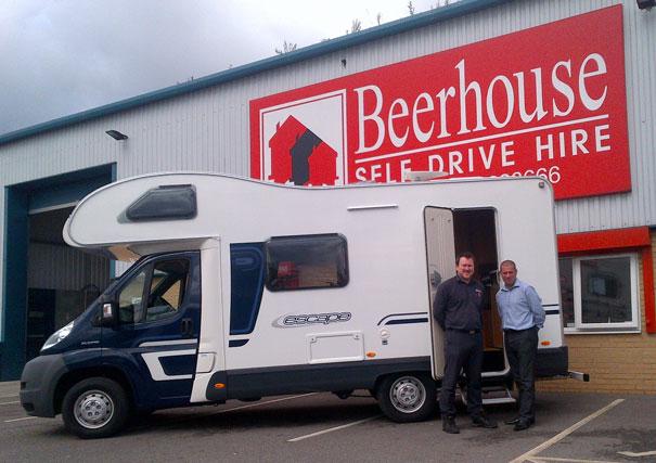 Beerhouse Launches Motorhome Rental Service Hu17 Net It S All