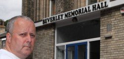 A new sign on the front Beverley Memorial Hall has caused a few eyebrows to raise among some of the locals. Cllr David Elvidge has received a few calls from people who have pointed out the word 'War' has been removed