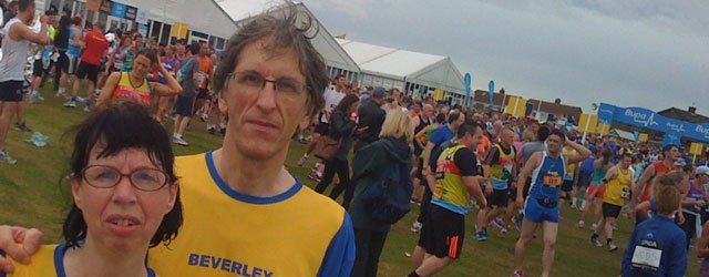 Beverley AC Members Among The Thousands At The Great North Run