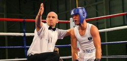 Jonathan Thorn made a return to boxing at Bonus Arena as he represented England in an international against Australia. With an army of fans in the stands cheering on the Beverley fighter he looked in good shape until his opponent, Zach Baugalupo