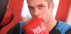 Jonathan Thorne will pull on the gloves for the first time in ten months as he steps into the ring for England who face Australia at the KC Stadium. Thorne said he was looking forward to fight as he continues to put in the hours at the gym ahead on his bout on the 27th October.