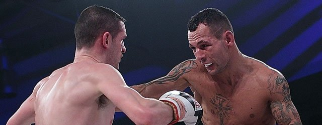 PROFESSIONAL BOXING : Mouneimne Recovers Well To Beat Savage